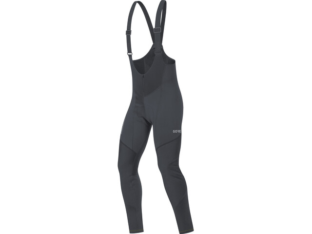 GORE WEAR C3 Windstopper Thermo Bib Tights Men black